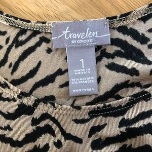 Chico's Tops - Chico's Animal Print Tank Top or Shell